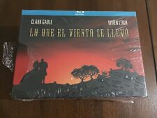 LO QUE EL VIENTO SE LLEVO DELUXE BOX BLURAY CAMISETA POSTER POSTALES NEW SEALED