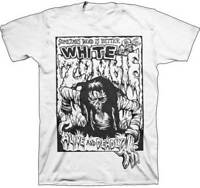 WHITE ZOMBIE - Alive And Deadly T SHIRT S-2XL New FireBrand Merch - Rob Zombie