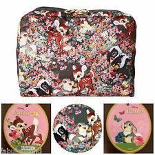 LeSportsac Disney Bambi and Friends XL Rectangular Cosmetic Bag NWT Free Ship