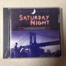 SATURDAY NIGHT - STEPHEN SONDHEIM WORLD PREMIERE BRAND NEW CD
