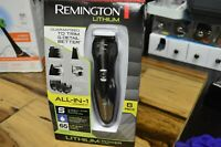 Remington PG6025 All-in-1 Lithium Power Grooming Kit Beard Trimmer 8 Pc - SEALED