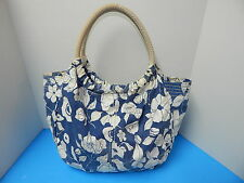 American Eagle Elegant Outfitters Handbag Purse Blue & White Color double Handle