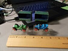 VINTAGE LOT OF 2 AHI BRAND TOYS MINIATURE CARS IN BOX 1914 STUTZ & 1909 MODEL T