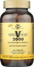 Solgar Formula VM-2000 180 Tablets Multinutrient System