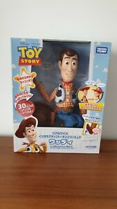 Pixar Toy Story Sheriff Woody Talking Figure Japanese Version Takara Tomy Toys
