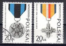 Poland - 1988 45 years army - Mi. 3165-66 FU