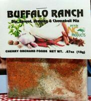 Buffalo Ranch Dip Mix, makes dips, spreads, cheese balls &salad dressings