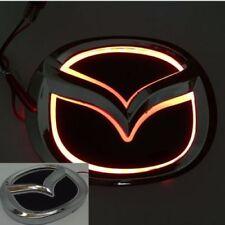 5D LED Car Tail Logo Red light Auto Badge Light for Mazda 2 Mazda 3 Mazda-CX7