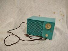Vintage Admiral Bakelite Radio Made in Usa Model Y2998 turquoise.rare