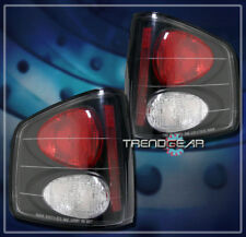 1994-2004 CHEVY S10 GMC SONOMA/1996-2000 HOMBRE TAIL LIGHTS LAMP BLACK 2002 2003