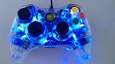 Blue Light-up Genuine Afterglow Microsoft Xbox 360 Wired Controller