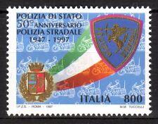 Italy - 1997 50 years traffic police - Mi. 2545 MNH