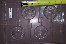 US Army Emblem Patriotic Lollipops Chocolate Plastic Candy Soap Mold