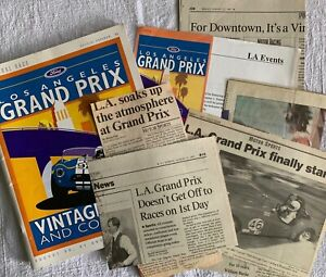 1997 INAUGURAL Ford Los Angeles Grand Prix Vintage Races & Concours Collection