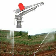 Gear Drive Alloy Sprinklers Spray Area Agricultural Field Irrigation Watering