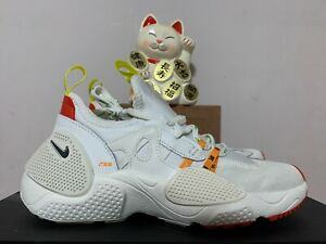 Nike Huarache Edge Heron Preston Summit White New Men's 5 [CD5779-100]
