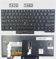 NEW Original Thinkpad Lenovo T470 T480 Notebook Keyboard US Backlit keyboard