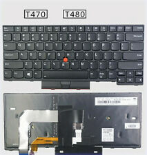 NEW Original Thinkpad Lenovo T470 T480 Notebook Keyboard US Backlit keyboard