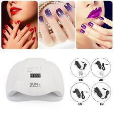 Sunx 54W Led Induction Uv Gel Nail Dryer Lampe Durcissement Gel Polish Nail