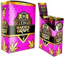 Billionaire Majestic Grape Wraps (25 pack)