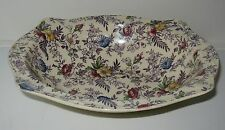 Johnson Brothers Old English Chintz Lavender Oval Vegetable Bowl