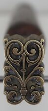 Grand Fer à Dorer Fleuron modèle Romantique Bronze Reliure Dorure relieur #44