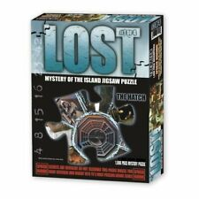 NEW 2006 LOST MYSTERY OF THE ISLAND JIGSAW PUZZLE 1000 PIECE #1 OF 4 THE HATCH