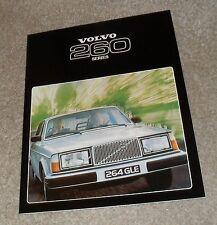 Volvo 260 Saloon & Estate Brochure 1978 - 264 GL 265 GL 264 GLE 265 GLE