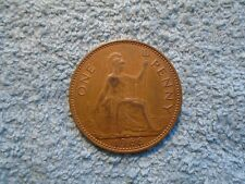1966 One Penny Coin.