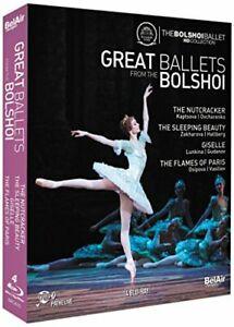 Great Ballets From The Bolshoi (The Nutcracker, The Sleeping Beauty, [DVD]