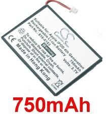 Batterie 750mAh type 616-0206 616-0215 A1059 A1099 Pour Apple iPod Photo