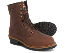 NEW RED WING IRISH SETTER WATERPROOF STEEL TOE LEATHER WORK BOOTS MENS 11 WARM
