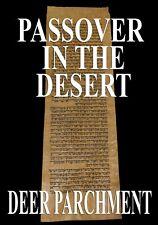 TORAH SCROLL BIBLE VELLUM MANUSCRIPT LEAF 350 YRS MOROCCO Numbers 8:14-9:11