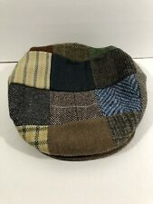 NEW Vintage Hanna Hats Mens Medium 100% Wool IrelandNewsboyCap GatsbyTweed
