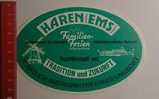 Aufkleber/Sticker: Haren Ems Familienferien in Deutschland (0809167)