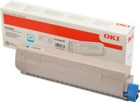 "Original OKI 46443103 ""High Yield"" Toner Cyan für OKI C833, C834, C843 Series"