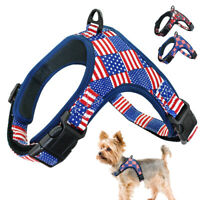 No Pull Adjustable Dog Pet Vest Harness with Durable D-ring for Small to Big Dog