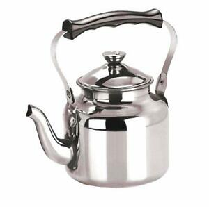Stainless Steel Hot Tea Coffee Kettle -12Cup