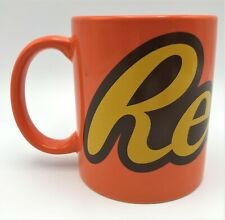 Reeses Peanut Butter Cup Candy 14oz Galerie Ceramic Coffee Cup Mug Preowned