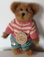 Boyds Bears 'Edmund T. Bear Plush Brown Teddy 1998
