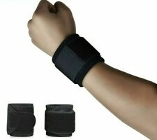 Breathable Neoprene Wrists Braces Workout Fitness Sports Adjustable Compressions