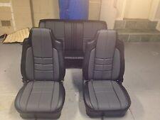 Lx Torana Slr Sedan Seat Covers,slate+grey Golfball Inserts,full Set,AUSSIE MADE