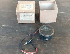 Vintage British Made Pocket Voltmeter