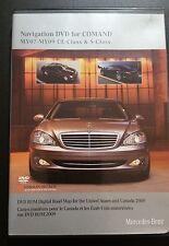 Mercedes-Benz COMAND Nav DVD 2009 USA & CANADA for MY'07-'09 CL-Class & S-Class