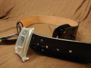 """Women's Gould & Goodrich B192-32BR Sally Browne Brass Duty Belt Fits 32"""" Waist"""