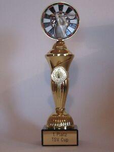 """Sport-Pokal """"Dart"""" mit Wunschgravur"""