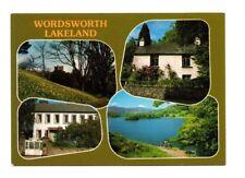 Cumbria - Wordsworth's Lakeland - Multiview Postcard