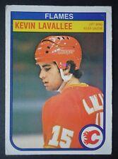 NHL 49 Kevin Lavalee Calgary Flames O-Pee-Chee 1982/83