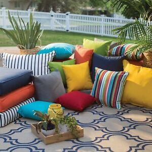 """Indoor Outdoor Waterproof Cushions Covers Pallet Furniture 60cm x 60cm / 24x24"""""""