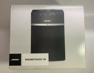Bose SoundTouch 10 Wireless Music Speaker System Black New in Box Sealed